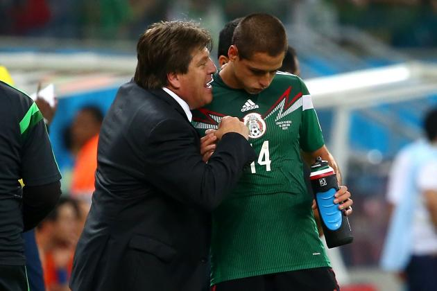 Hatching a Plan for Mexico to Stop Robin Van Persie and Arjen Robben