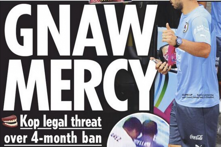 World Cup Paper Review: 'The Outcast' Luis Suarez Ready to Fight FIFA Ban
