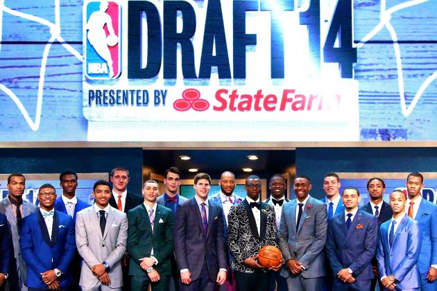 NBA Draft 2014 Tracker: Full List of Results and Picks