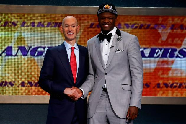 Twitter Reacts as Julius Randle Is Selected by Lakers in 2014 NBA Draft
