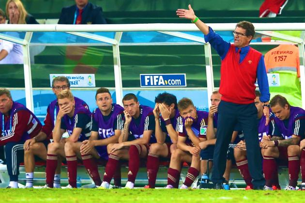 Algeria vs. Russia: Capello's Drab, Defensive Style Deservedly Knocked out