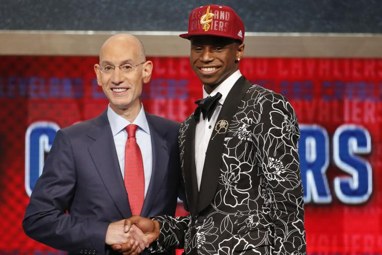 Johnny Manziel Welcomes Cavaliers' No. 1 Pick Andrew Wiggins to Cleveland