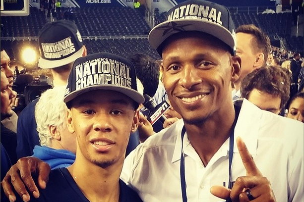 Ray Allen Welcomes Fellow UConn Husky Shabazz Napier to Miami