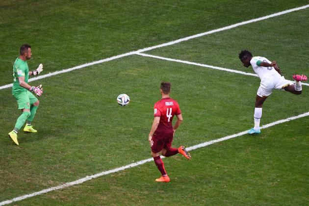 Ghana's Asamoah Gyan Becomes All-Time Leading African Scorer in World Cup