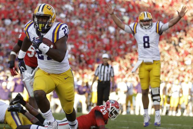 LSU Football: Will Tigers RB Kenny Hilliard Finally Live Up to the Hype?