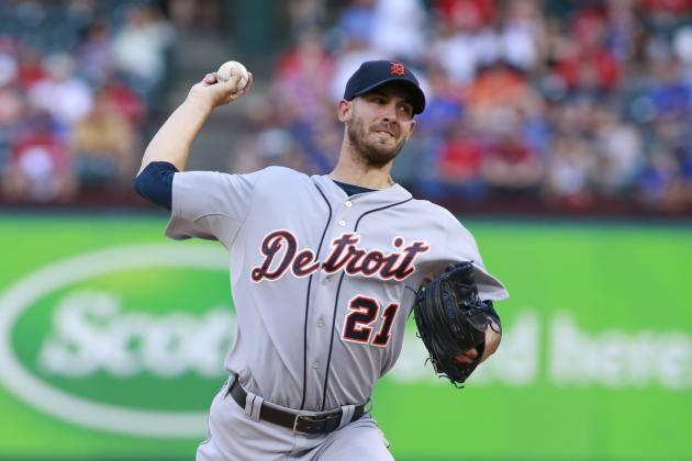 Porcello Tosses 1st Career Shutout for Tigers