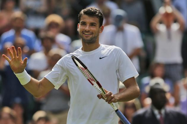 Is Grigor Dimitrov Emerging as a Championship Threat at Wimbledon 2014?