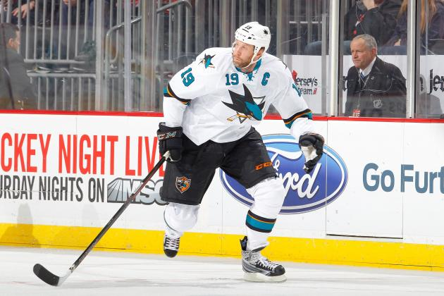 Should the New York Rangers Attempt to Trade for Joe Thornton?
