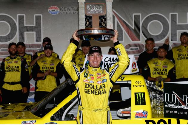 NASCAR Truck Series at Kentucky 2014 Results: Winner, Standings and Reaction