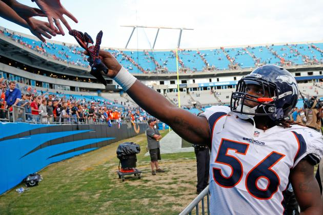 Denver Broncos: Pros and Cons of Starting Nate Irving in 2014