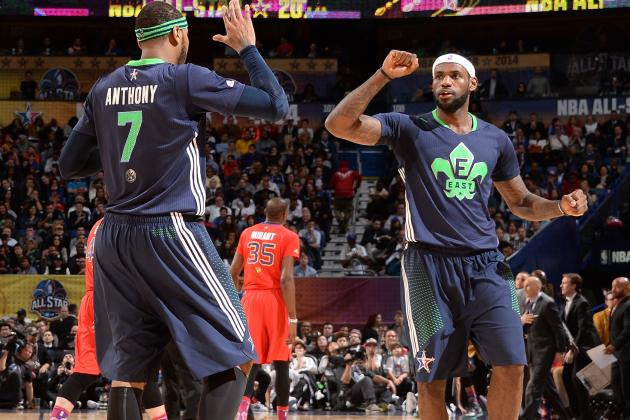 Berger: Draft Is Prelude to Chase LeBron, Melo
