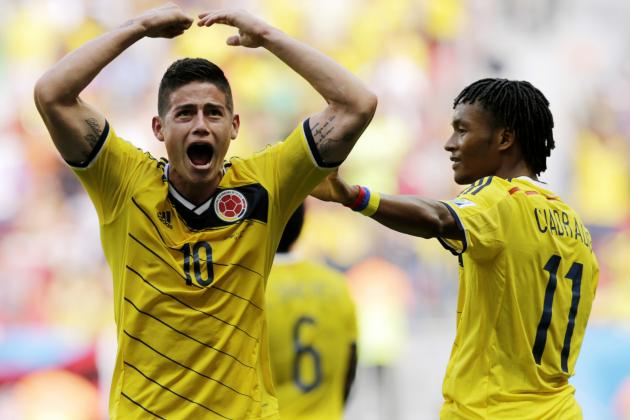 Colombia vs. Uruguay Betting: World Cup Odds, Prediction in Round of 16