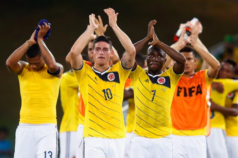 Colombia Unofficially Top FIFA World Rankings After World Cup 2014 Group Stage