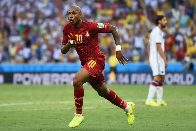 Scouting Report: Could Andre Ayew Be Manchester United's Newest Signing?
