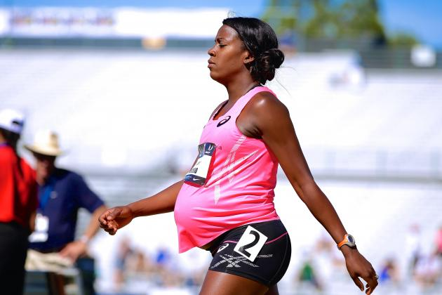 Alysia Montano Runs at U.S. Championships While 8 Months Pregnant