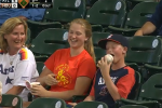 Young Fan Licks Ball, Gets Slapped in the Face