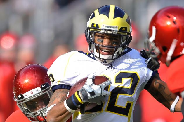 Ex-Michigan WR Convicted for Domestic Violence