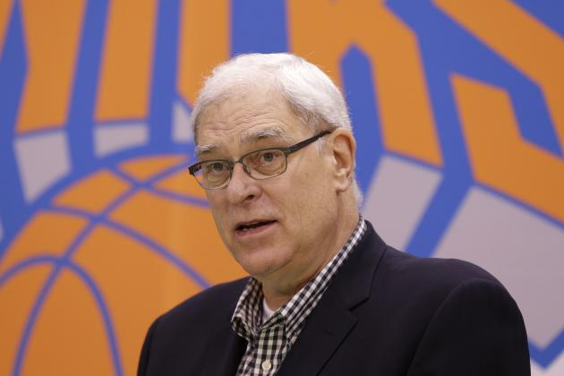 Phil Jackson Pressures Carmelo Anthony, Hopes He's 'Good for What His Word Is'