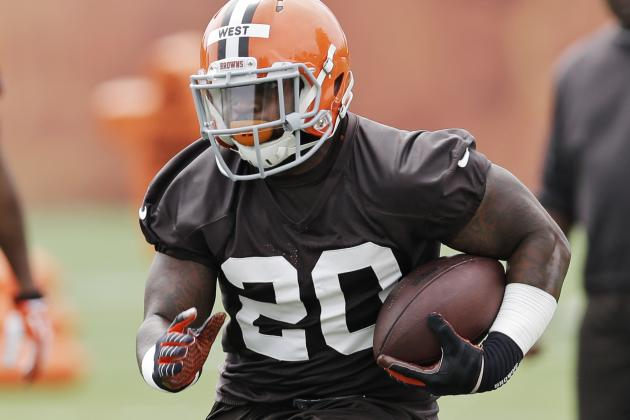 Terrance West on Johnny Manziel Questions: 'It's a Distraction'