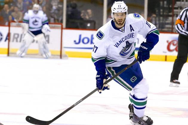 Ryan Kesler Traded to Ducks: Latest News, Details and Reaction