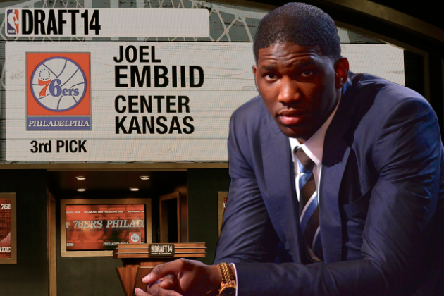 Behind the Scenes with Joel Embiid on His NBA Draft Day