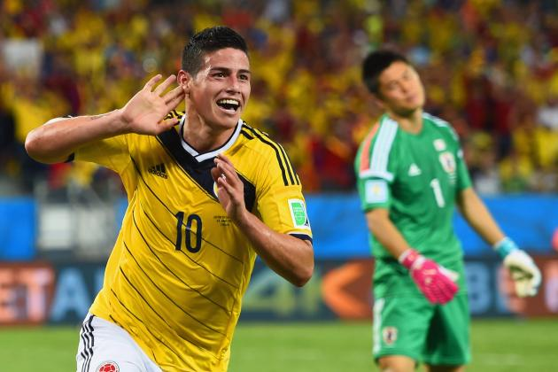 Colombia, Star of the Group Stages, Primed to Put Some Bad Memories to Rest