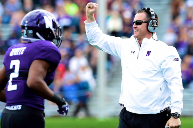 Pat Fitzgerald's Northwestern Team Closer to Top of Big Ten Than Fans Think