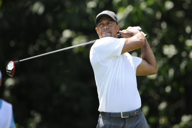 Tiger Woods at Quicken Loans National 2014: Day 2 Leaderboard Score and Reaction