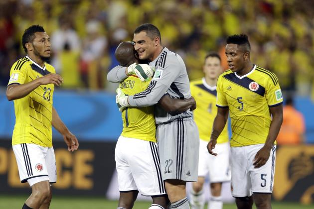 Colombia vs. Uruguay: Date, Time, Live Stream, TV Info, 2014 World Cup Preview