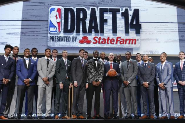 2014 NBA Draft Grades: Full Results and Scores for Rounds 1-2