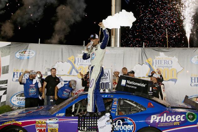 NASCAR Nationwide Series at Kentucky 2014: Results: Winner, Standings, Reaction
