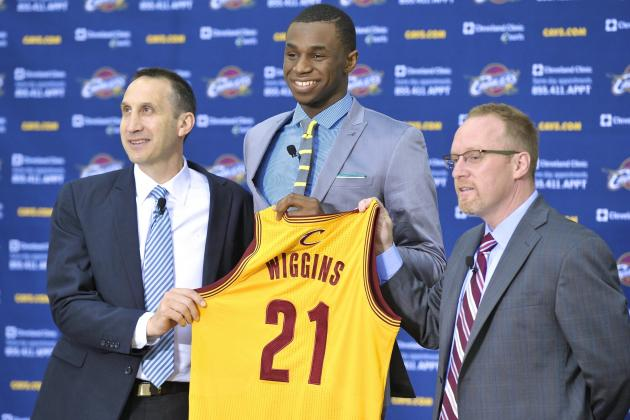 Can Andrew Wiggins Be the Alpha Dog of Cleveland Cavaliers' Future?