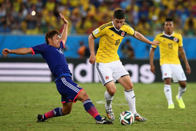 Colombia vs. Uruguay: Tactical Preview of World Cup Round-of-16 Match