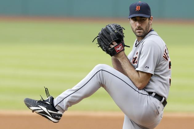 Tigers' Justin Verlander Has Winless Month for 1st Time in His Career