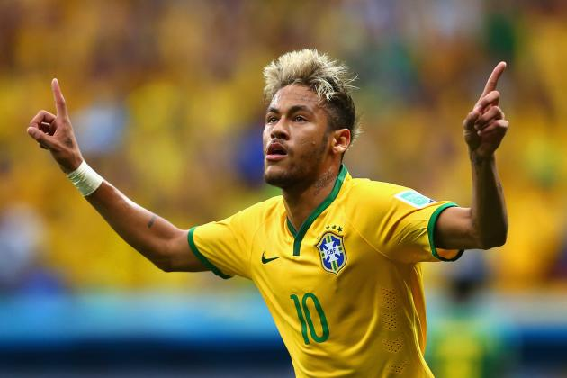 Brazil vs. Chile: Live Player Ratings