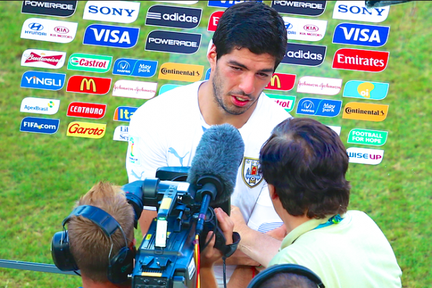 Luis Suarez Will Need More Than Four Months to Learn to Control Biting Instincts