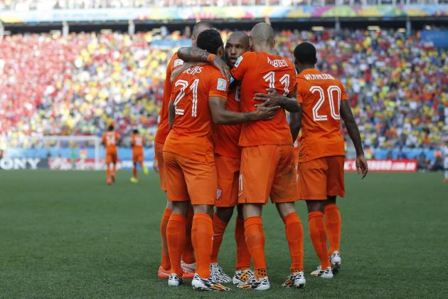 Netherlands vs. Mexico: Date, Time, Live Stream, TV Info, 2014 World Cup Preview