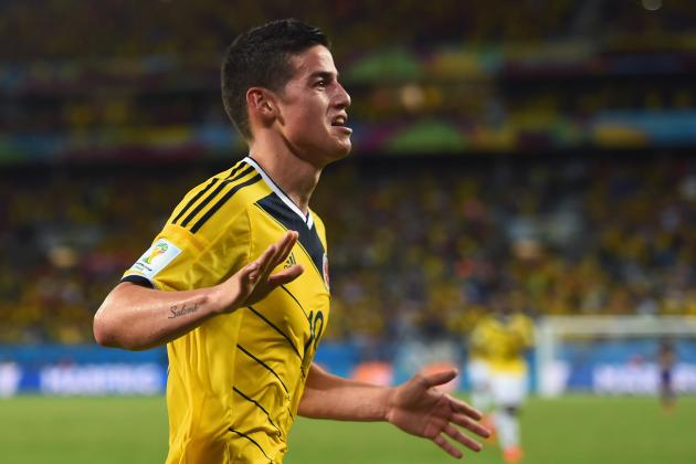 Colombia vs. Uruguay: Live Player Ratings