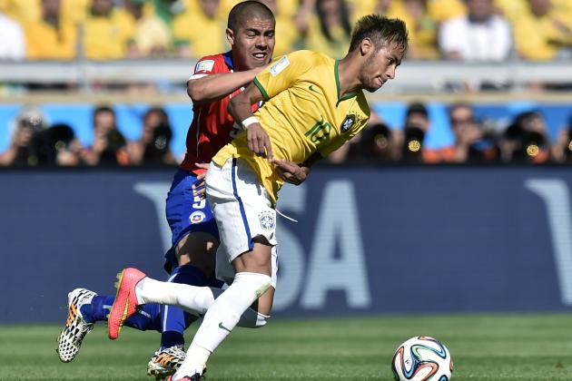 World Cup 2014 Scores: Tracking Round of 16 Results for Day 16