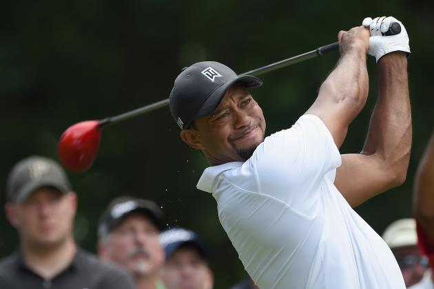 Tiger Woods Smart to Be Encouraged by Play at Quicken Loans National 2014