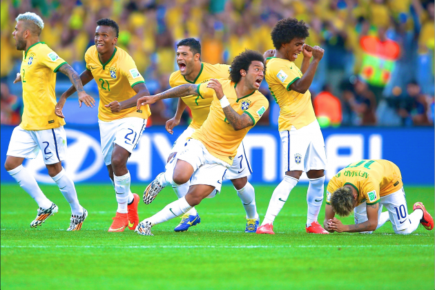 Brazil vs. Chile: Live Score, Highlights for World Cup 2014 Round of 16