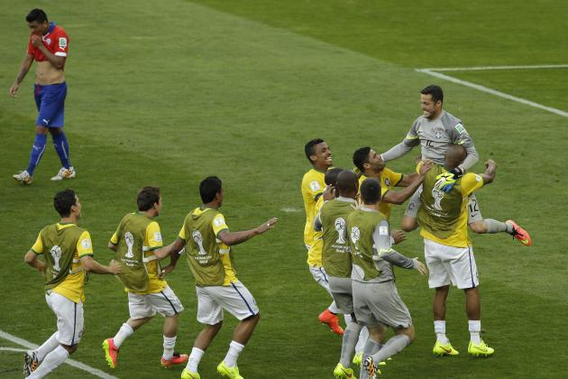 Twitter Reacts as Gonzalo Jara Sends Brazil to Quarterfinals with Missed Penalty