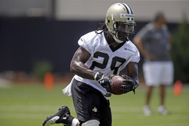 Can New Orleans Saints RB Khiry Robinson Be the Next Curtis Martin?