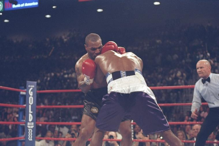 We Remember: Mike Tyson Bites Evander Holyfield's Ear, Gets Disqualified