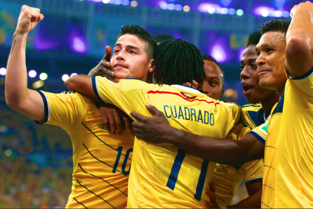Colombia vs. Uruguay: World Cup Round of 16 Score, Grades & Post-Match Reaction