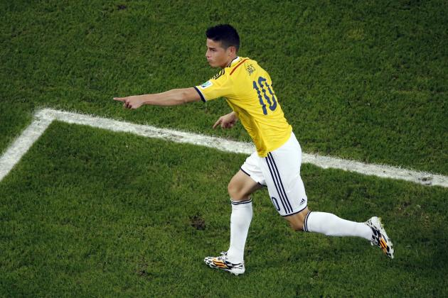 Colombia's James Rodriguez Is an Early Contender for Player of the World Cup