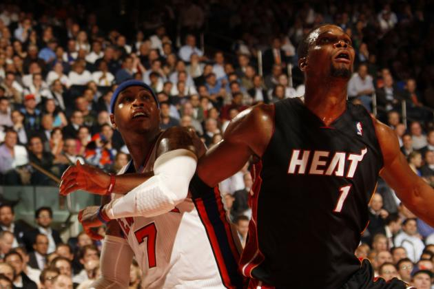 Lakers Rumors: Adding Chris Bosh and Carmelo Anthony Would Make L.A. Contenders