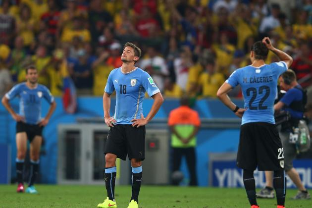 Uruguay, Without Their Biting Talisman, Have No Answer for Colombia's Quality