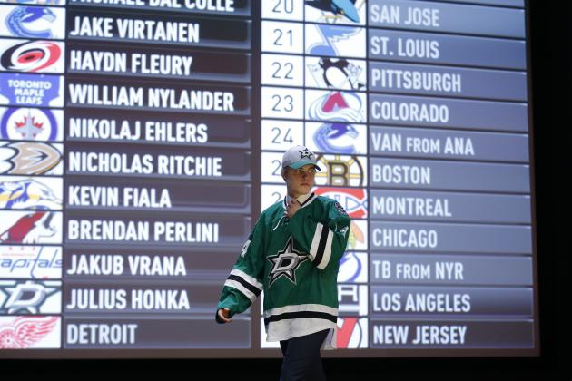 2014 NHL Draft Grades: Full Results and Overall Franchise Scores