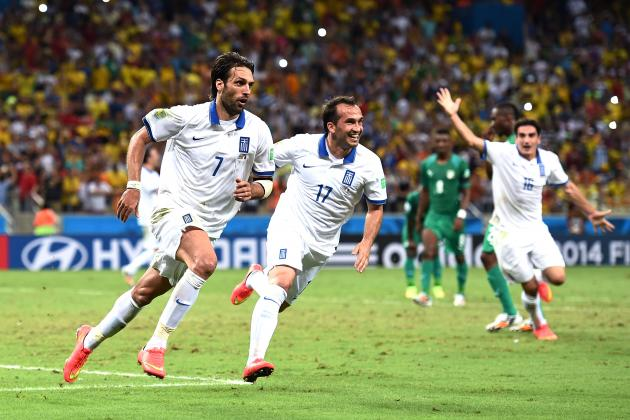 Costa Rica vs. Greece: Tactical Preview of World Cup Round-of-16 Match